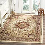 Safavieh Lyndhurst Collection LNH330A Traditional Oriental Medallion Ivory and Red Square Area Rug (8′ Square) Review