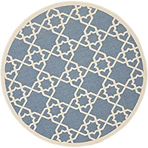 Amazon Com Safavieh Courtyard Collection Cy6032 243 Blue