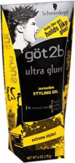 product image for got2b Ultra Glued Invincible Styling Gel 6 oz