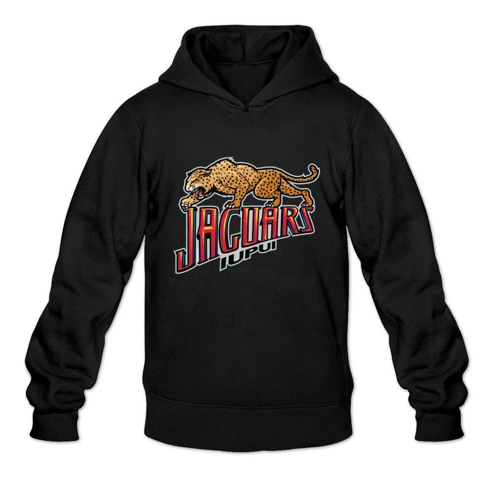 Tavil IUPUI Jaguars 100/% Cotton Hoodies For Mens