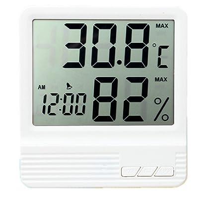 Tumao medidor Digital de la Humedad de la Temperatura del LCD, termómetro Digital del LCD