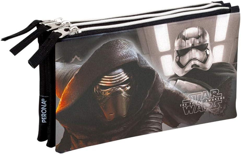 Montichelvo MC-53199 Star Wars trousse /à crayons 3 compartiments