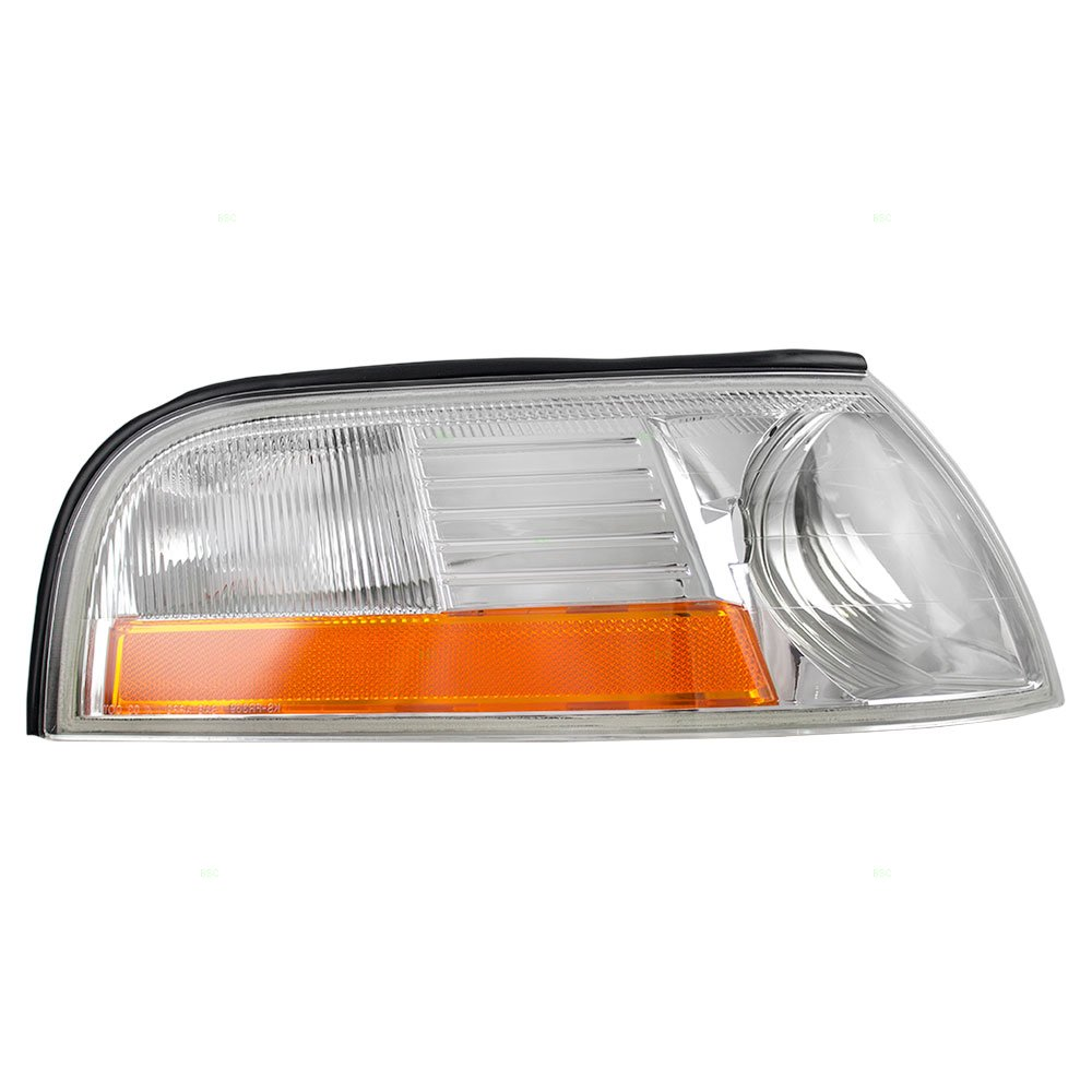 Passengers Park Signal Side Marker Light Lamp Replacement for Mercury 3W3Z13200AA AutoAndArt