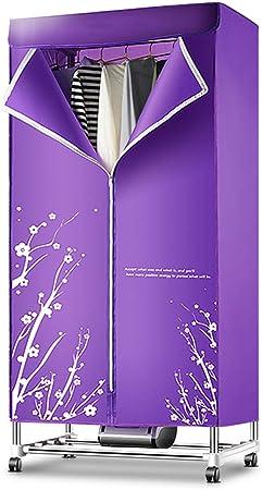 WHJ@ Secador de Aire Caliente eléctrico Vestidor de Acero con Perchero Secadora portátil, Elemento de soplado Potente y silencioso 1200W, 180 Minutos, Secadora: Amazon.es: Hogar