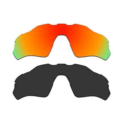 fb5377290d Image Unavailable. Image not available for. Color  ACOMPATIBLE 2 Pair  Replacement Polarized Vented Lenses for Oakley Radar EV XS Path (Youth Fit