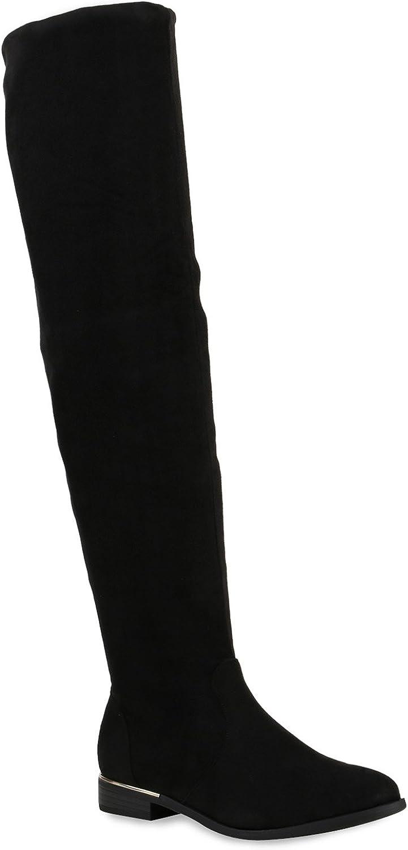 Stiefelparadies - Botas para mujer, tallas grandes