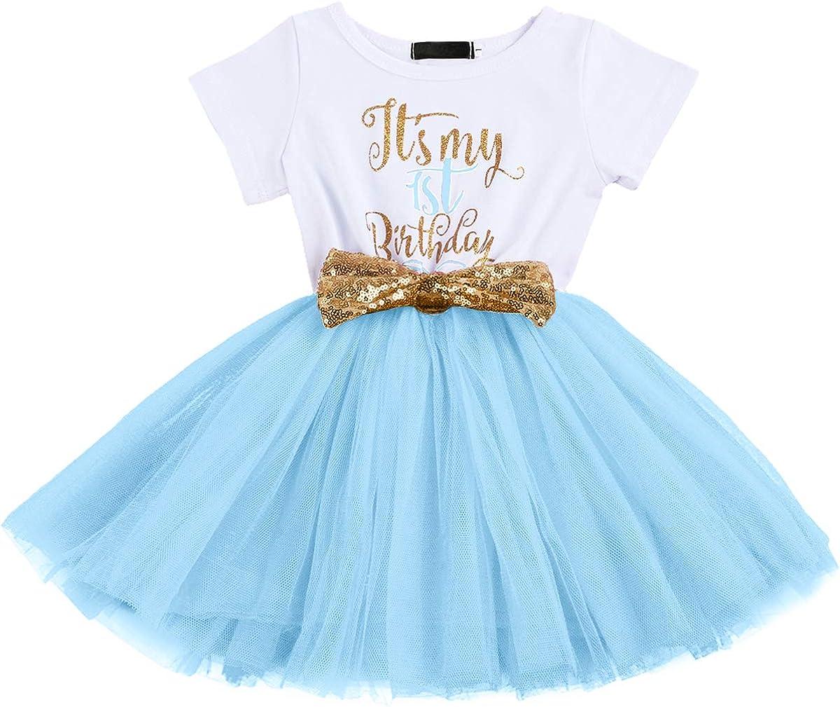 Blue Birthday Party Dress One Glitter Dress Blue Baby Dress Cake Smash Tutu Blue Baby Blue First Birthday Dress One birthday dress