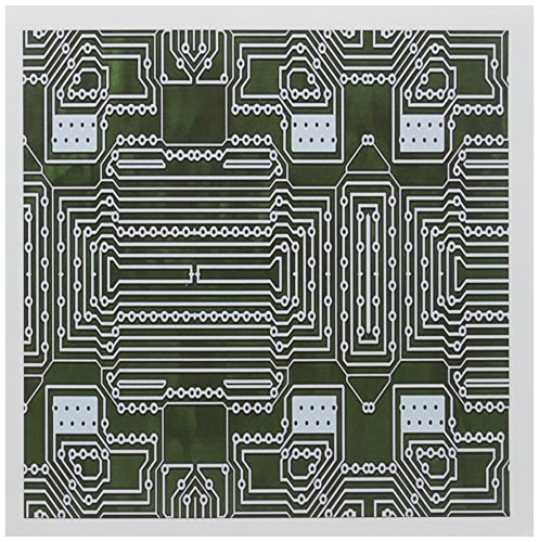 (3dRose Greeting Cards, 6 x 6 Inches, Pack of 6, Print of Circuit Board Close up (gc_204250_1))