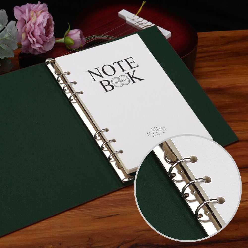 diametro di 30mm 6 pezzi raccoglitore ad anelli in argento Anelli Apribili Rilegatura metallo per diario notebook foto album fai da te pianificatore
