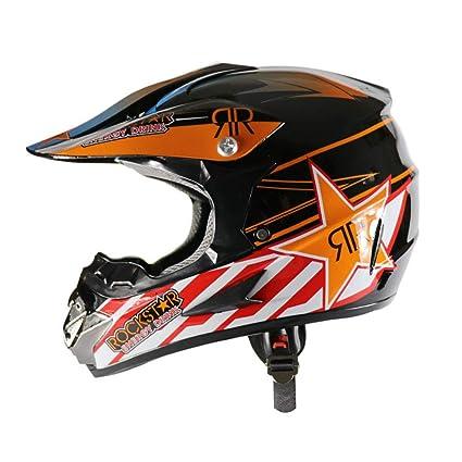 LOSA Motocross Casco Playa Racing Casco Bicicleta De Montaña Todo-Alrededor Casco Adultos Hombres Y