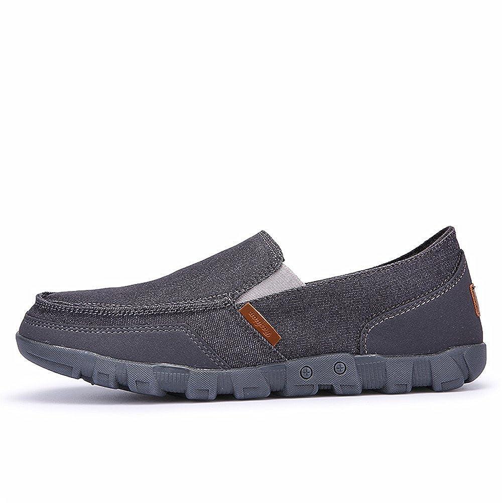 AgeeMi Shoes Hombre Slip-on Sintético Plano Sin Cordones Zapatillas: Amazon.es: Zapatos y complementos