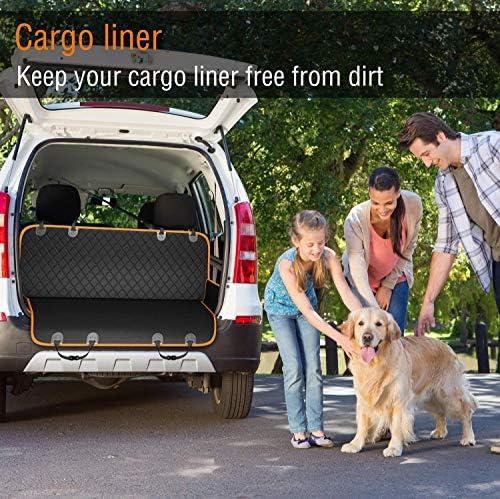 Cubierta protectora de asiento de coche contra mascotas 5