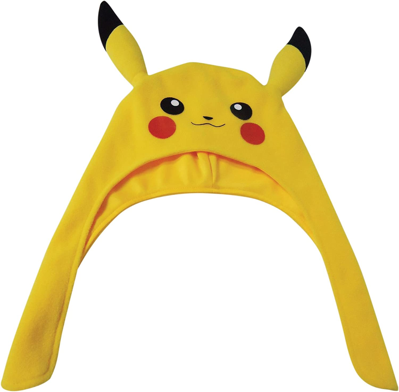 Children/'s Reversible Sun Hat Made From Pikachu Pokemon Fabric