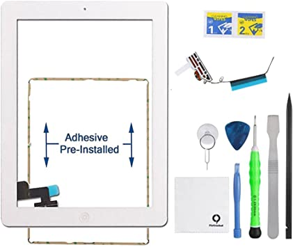 Touch Screen Digitizer Replacement for Apple iPad 2 with Tool Kit