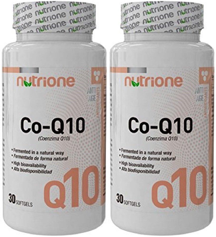 Nutrione - Coencima Q10 - 30 softgels: Amazon.es: Salud y cuidado personal