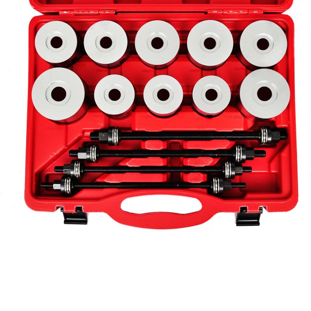Amazon.com: SKB family Professional Pull Press Sleeve Kit 27pc, Red, 40 CR, Size: 1 7