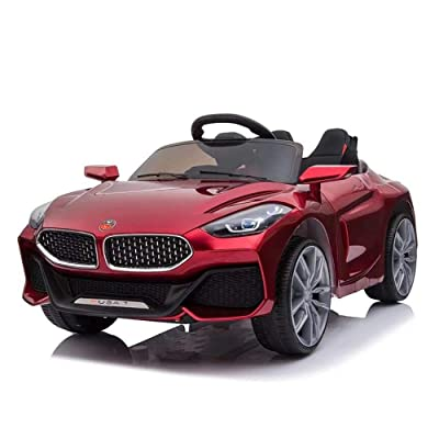 EOSAGA Ride On Car Toys, Electric 12 V RC Ride On Car with Remote Control Rechargeable Battery Powered Electric Car with 2 Motors, Parental Remote Control & Manual Modes, LED Lights, MP3 for Kids: Toys & Games