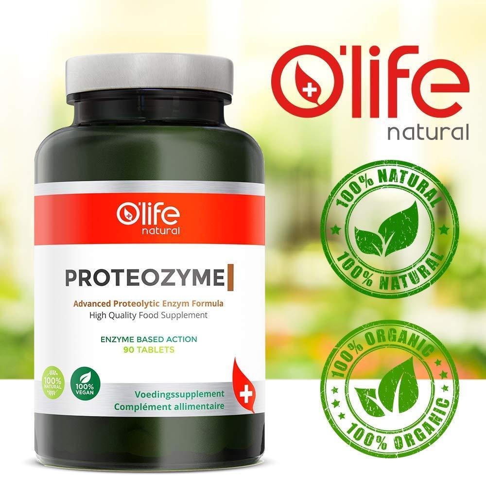 PROTEOZYME - Fórmula proteolítica avanzada de enzimas ...