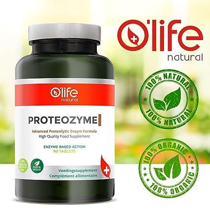PROTEOZYME - Fórmula proteolítica avanzada de enzimas - Aumento de ...