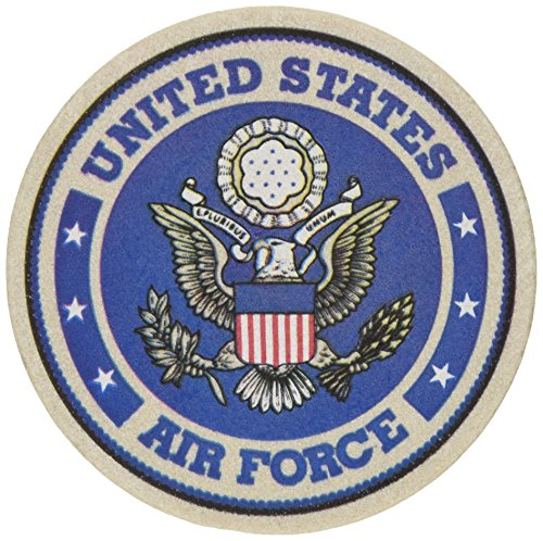 Thirstystone Stoneware Air Force Coaster, - Coaster Air Force