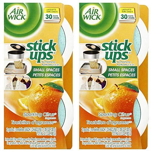 - Stick Ups Air Freshener, 2.1oz, Sparkling Citrus