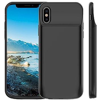 1237c4128b3 Cocoda Funda Bateria para iPhone XS/X, 6000mAh Carcasa Bateria, Externa  Recargable Protector