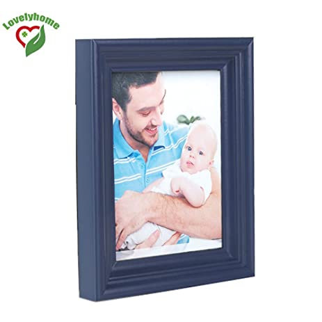 Amazon.com - Cheap Size A3 Wooden Blue Picture Frame, Family Photo ...