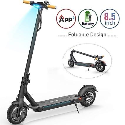 Amazon.com: TOMOLOO Hoverboard con Bluetooth y luces LED de ...