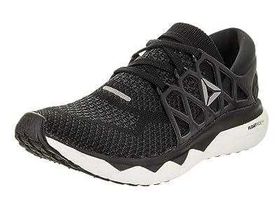 Reebok Floatride Run Ultraknit Shoe - Women s Running 6 Black Gravel White 571c9b504