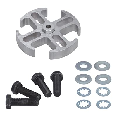 "Flex-a-lite 14544 Mill Finish 1/2"" Fan Spacer Kit: Automotive"