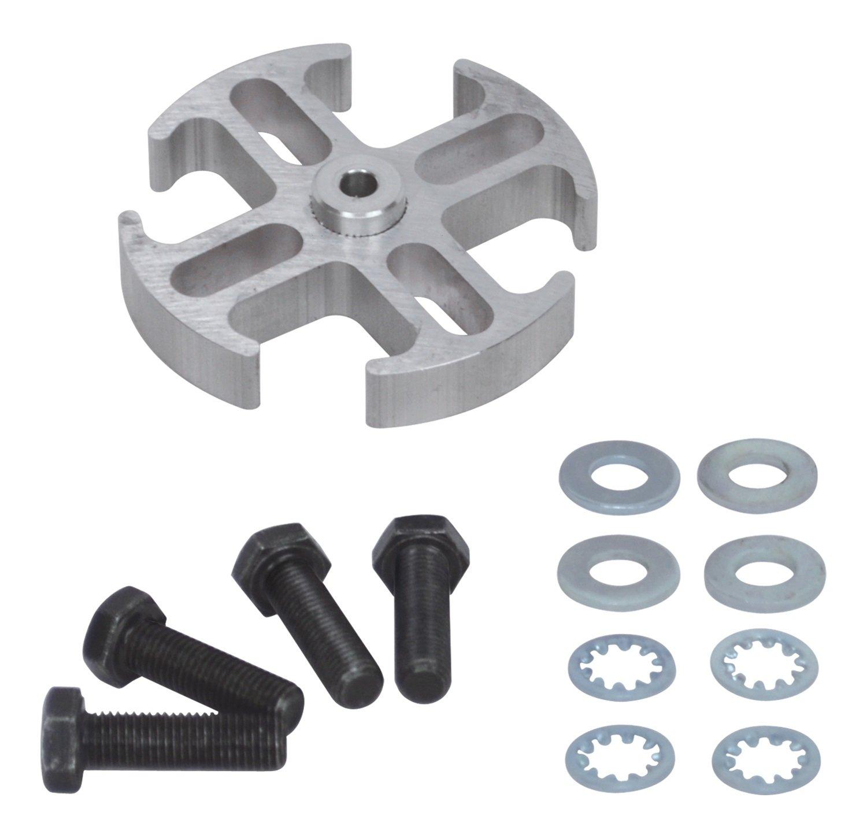 Flex-a-lite 14544 Mill Finish 1/2-Inch Fan Spacer Kit