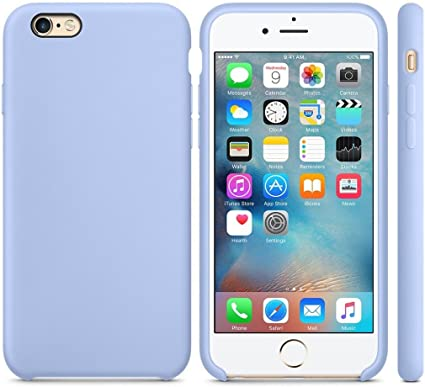 Apple iPhone 6S Plus Silicone case Funda azul - Funda para
