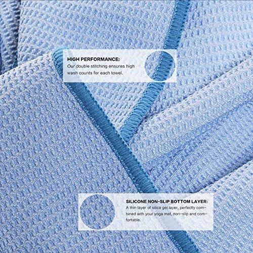 Premium Non Slip Yoga Towel (Free Towel Bag) By Heathyoga