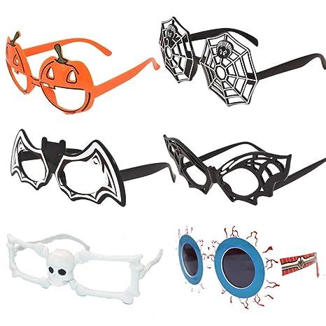 Julyfun Disfraz de Gafas de Sol Divertidas para Gafas de Sol ...