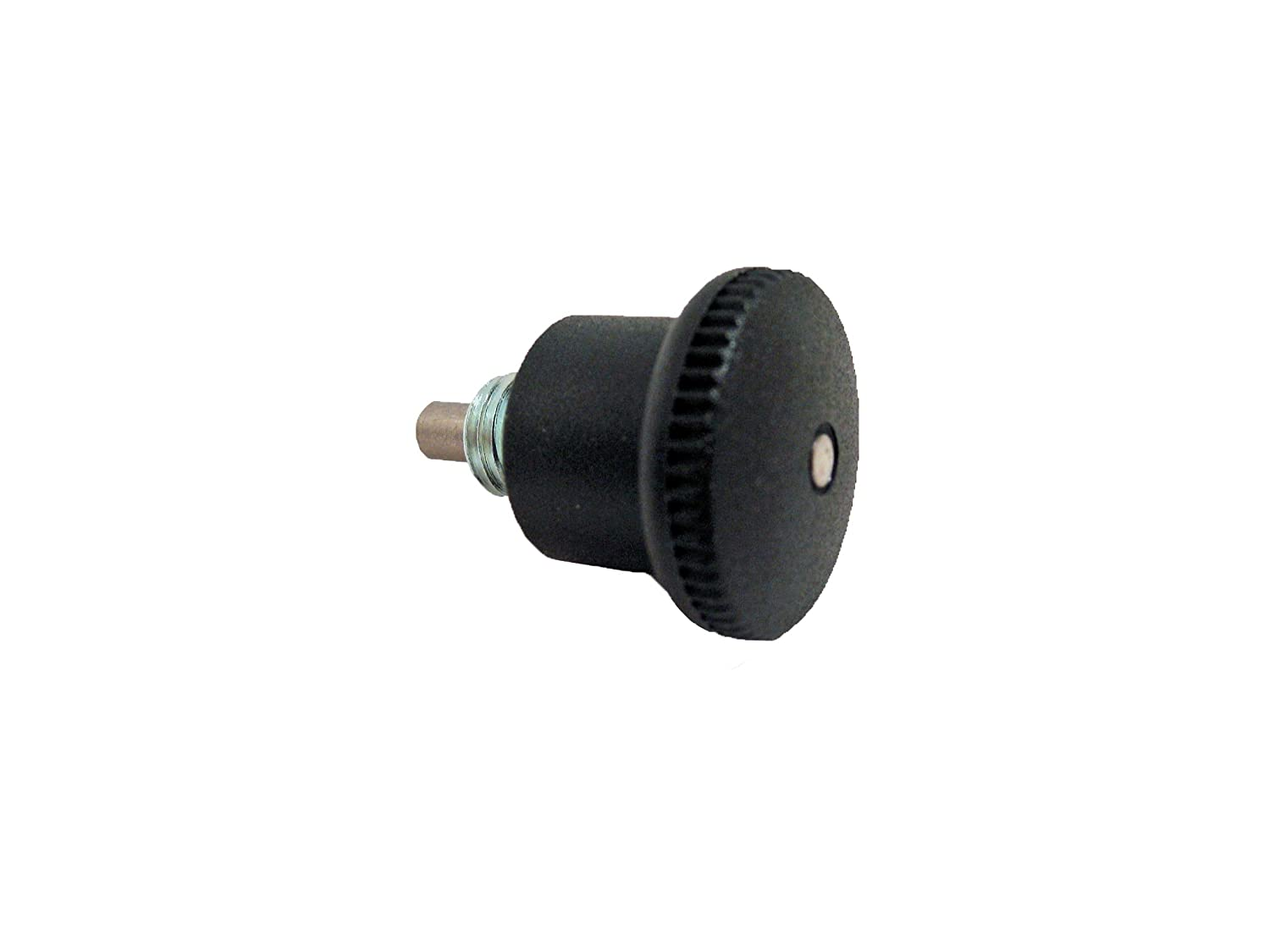 12mm Thread Length 8mm Diameter GN 822.6 Steel Lock-Out Type C Metric Size Mini Indexing Plunger with Hidden Lock Mechanism M16 x 1.5mm Thread Size