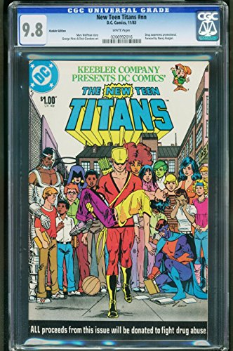 New Teen Titans Keebler Edition Cgc 9 8 Wp Nm Drug Issue Promo  0206992016
