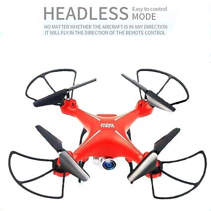 ZED- Drone Plegable RC Quadcopter Altitud 120 ° Gran Angular 720p ...