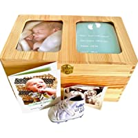 Wooden Baby Keepsake Box - Store Precious Keepsakes and Memories in a Premium Storage Box - Perfect Gift for Any New…