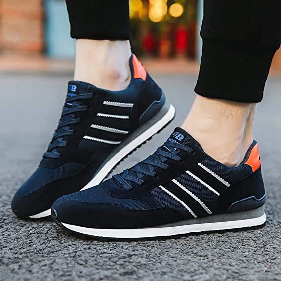 Amazon.com: YKARITIANNA Fashion Men Sneakers Casual Shoes Breathable Lace Up Shoes Student Running Shoes: Arts, Crafts & Sewing