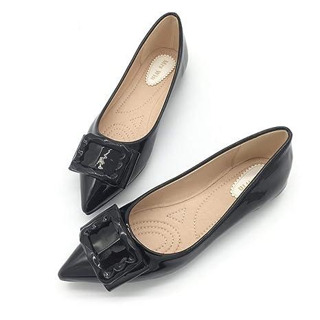 e7600f217a59f Amazon.com: Owen Moll Women Flats, Casual Solid Ballet Shallow Slip ...