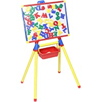 Momai Educational Little Master Board Deluxe with 50 Magnetic Alphabets & Numbers in Capitals for Toddler/Kids for Kindergarden/Pre-School