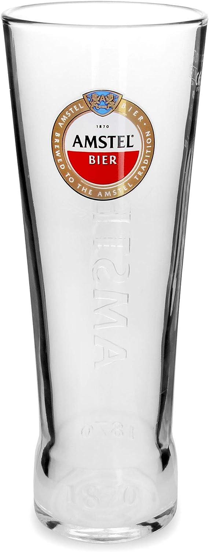 Amstel–Vaso de cerveza diseño de última