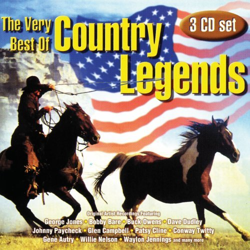 Very Best of Country Legends (Willie Nelson Legend The Best Of Willie Nelson)