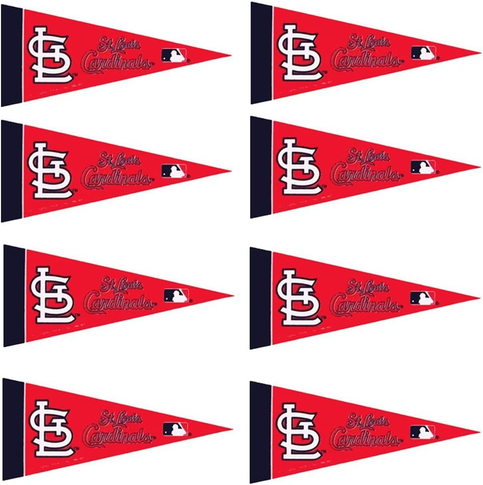 St. Louis Cardinals 8 Piece Mini Pennant Set