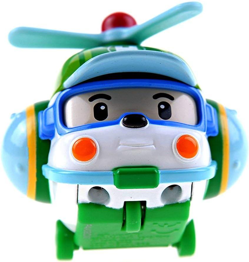 Silverlit Helly Metal vehículo de Juguete - Vehículos de Juguete (Azul, Verde, Naranja, Rojo, Blanco, Amarillo, Metal, Robocar Poli, Helly, Interior / Exterior, 3 año(s))