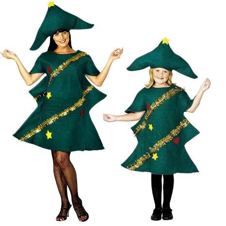 Amazon.com: Womens Christmas Tree Costume Christmas Party ...