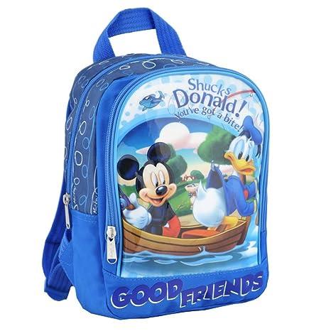 Mickey & Donald Duck | Niños Mochila azul | 25 x 23 x 10 cm |