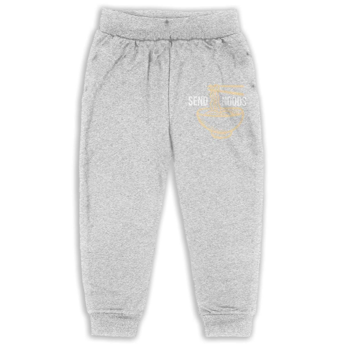 Laoyaotequ Pho Ramen Soup Noodle Kids Cotton Sweatpants,Jogger Long Jersey Sweatpants