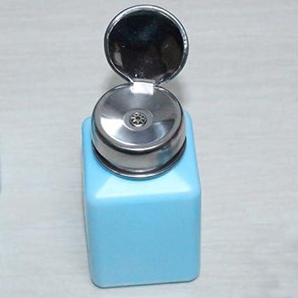 FAVOLOOK Botella para esmalte de uñas vacía, dispensador para almacenar quitaesmalte, alcohol u otros