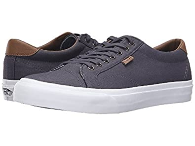 f19d8e24f0 Vans Court C L Periscope Grey True White Mens Sneakers (7 D ...